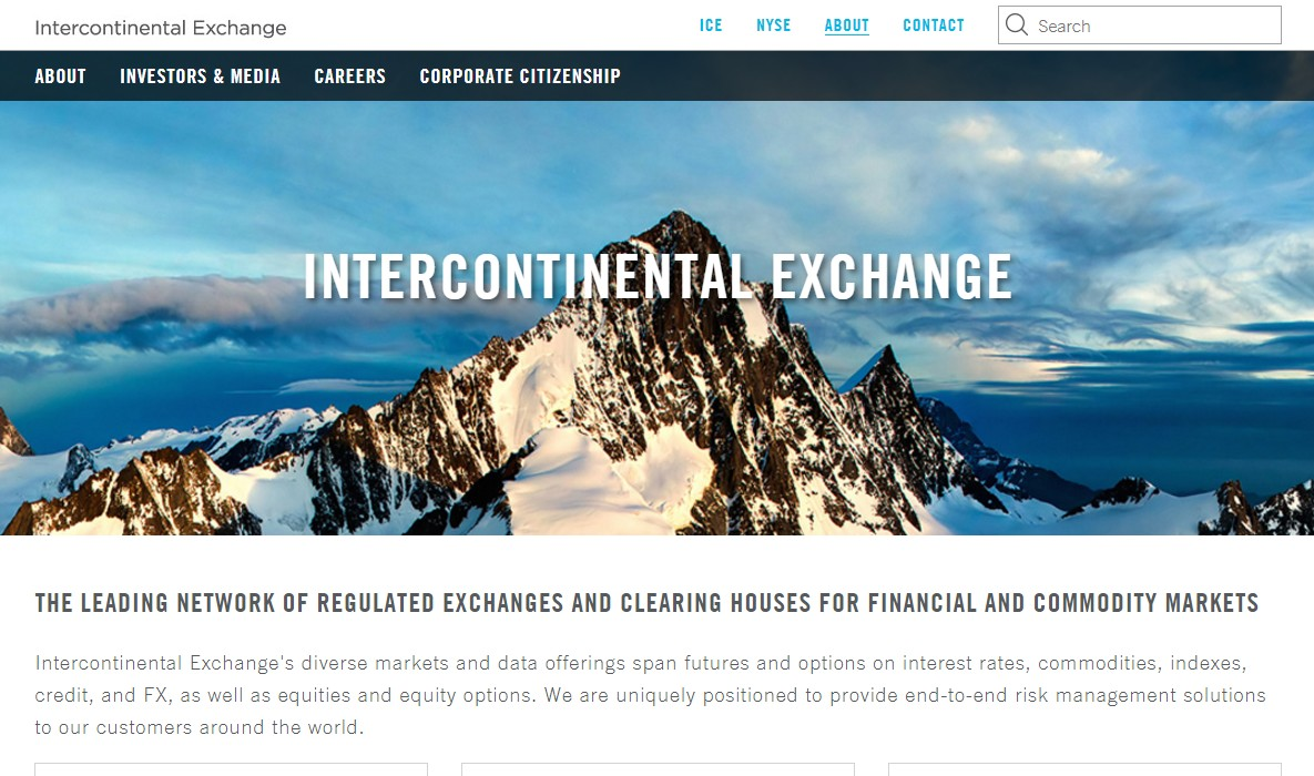 Intercontinental Exchange подал заявки на 2 биткоин-ETF