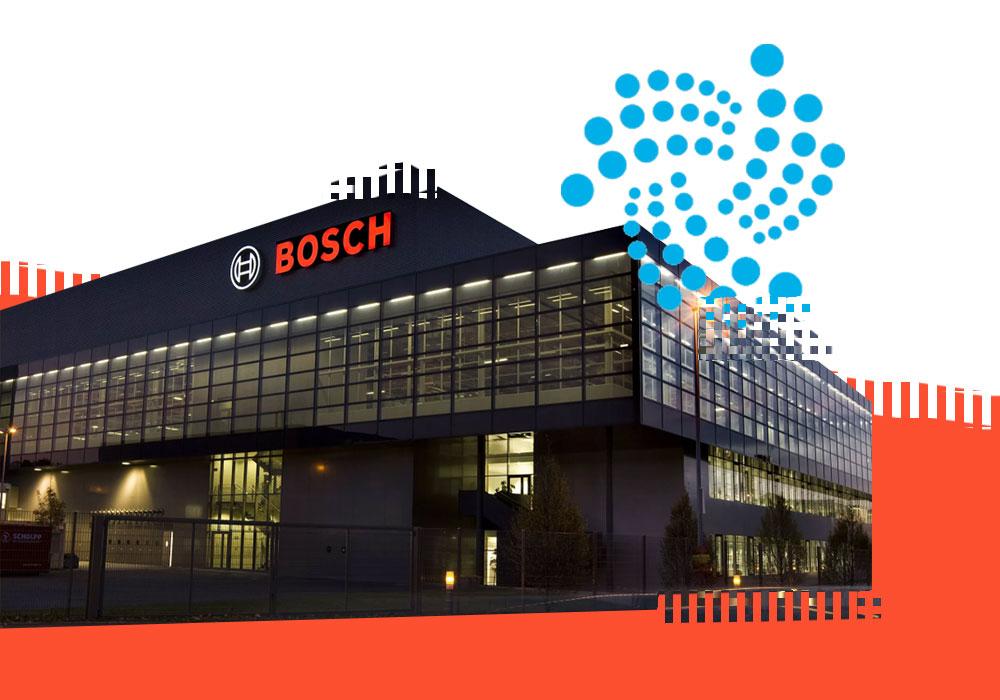 IOTA и Bosch станут партнерами