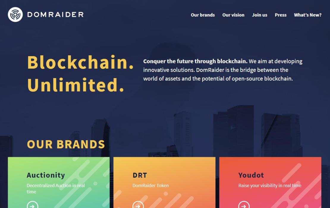 DomRaider выпустил ограниченный вариант Auctionity
