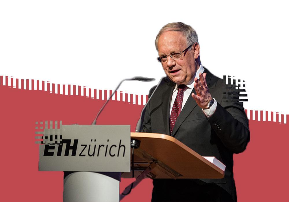 Министр экономики Швейцарии Йоханн Шнейдер-Амманн