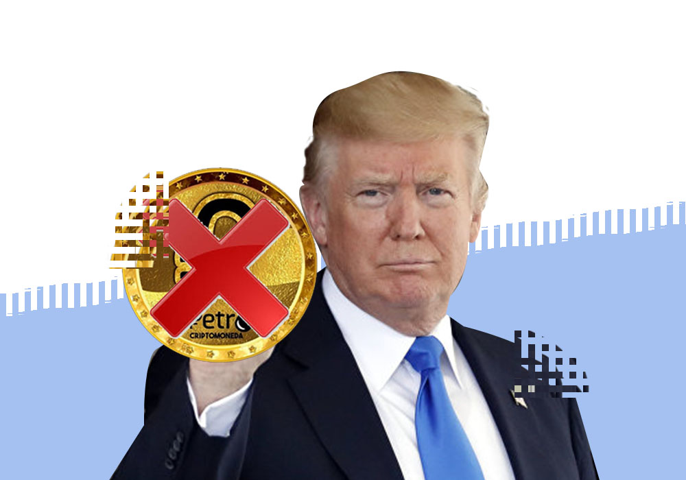 Трамп наложил запрет на El Petro