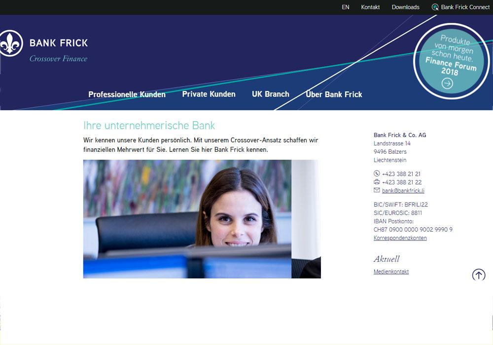 Банк Frick запускает сервис торговли криптовалютой