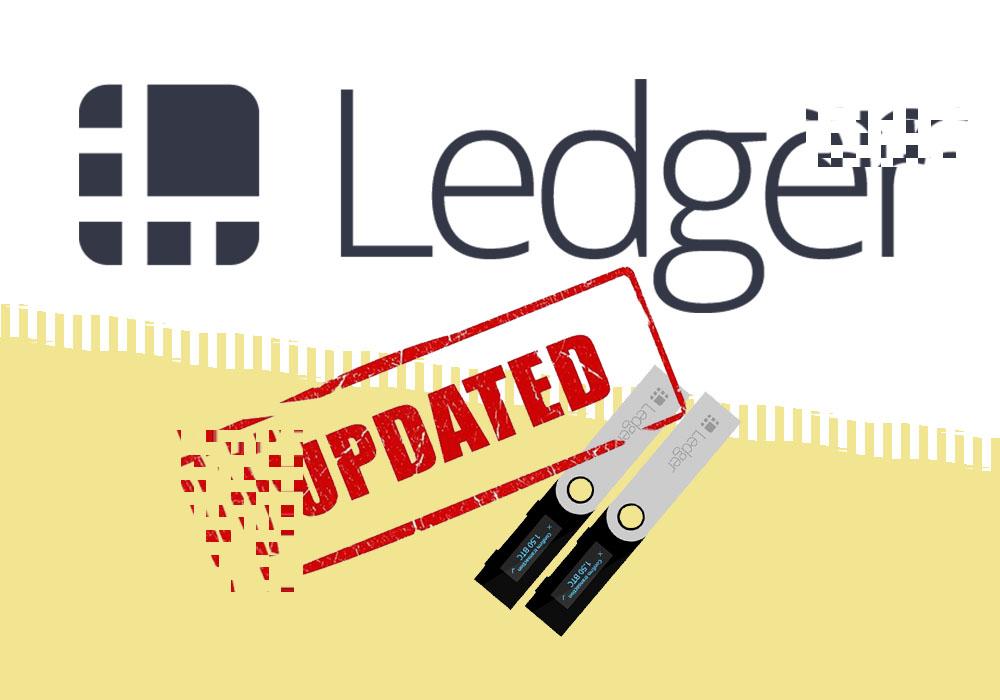 Ledger обновил прошивку для Nano S