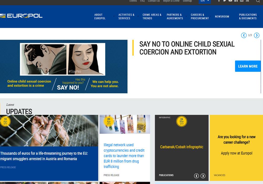 Европол раскрыл схему отмывания доходов с участием криптовалюты