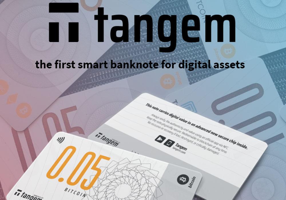 Tangem запускает биткоин-банкноты