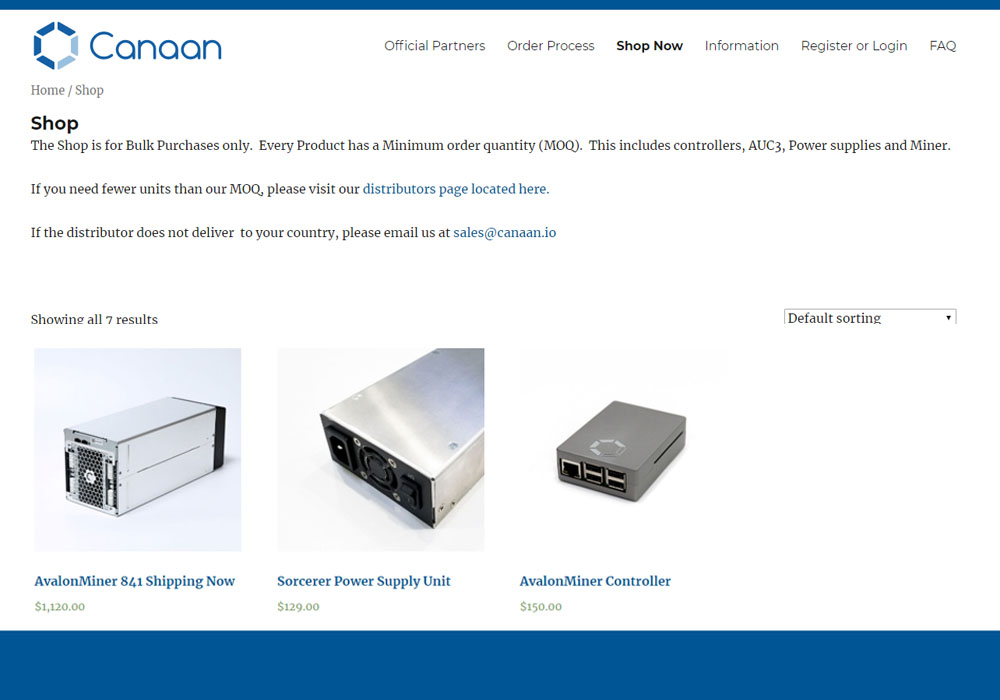 Canaan рассчитывает получить 1 млрд. на IPO