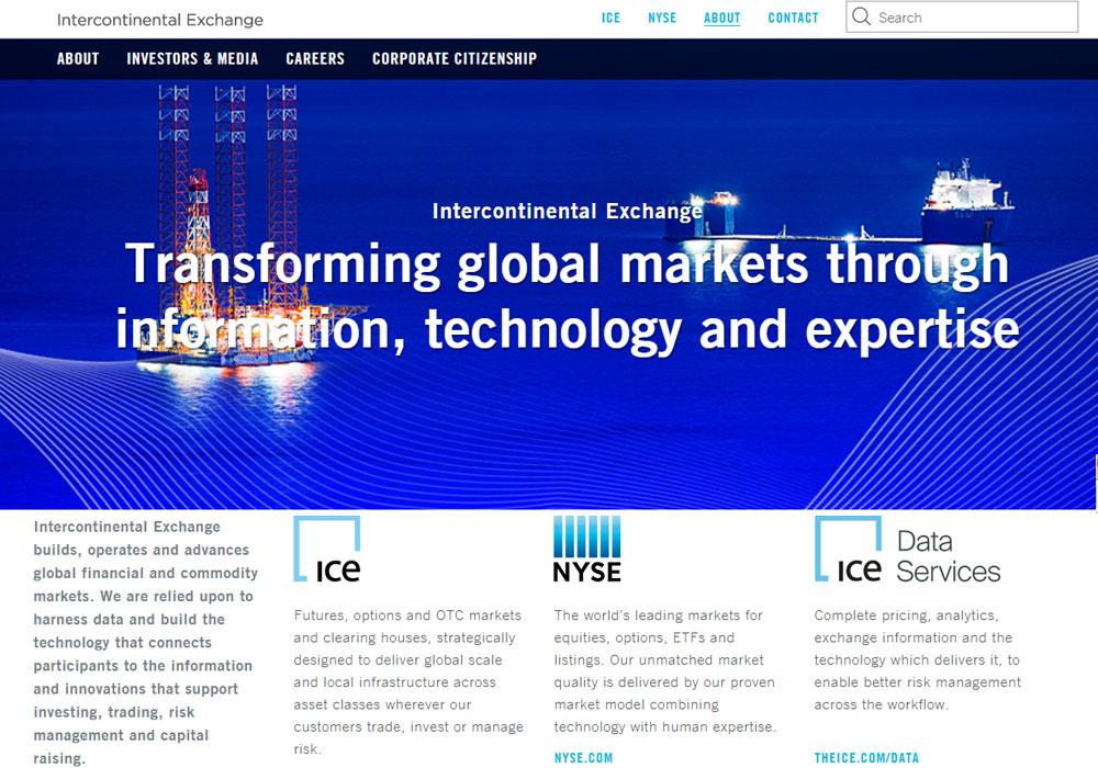Intercontinental Exchange думает о запуске криптоторгов