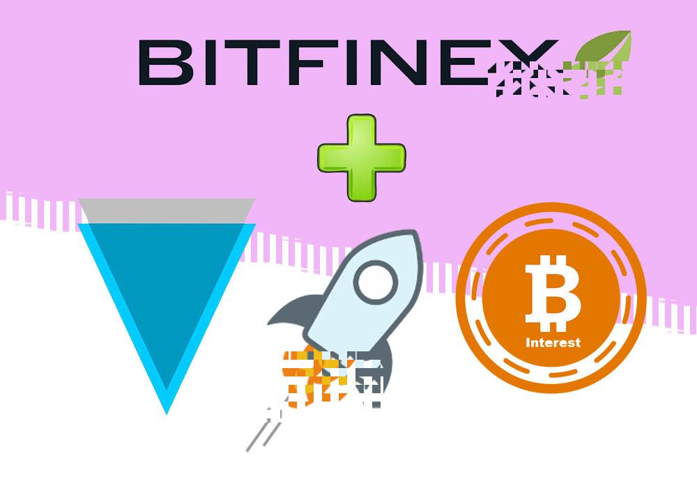 Bitfinex добавила сразу 3 монеты – XLM, XVG и BCI