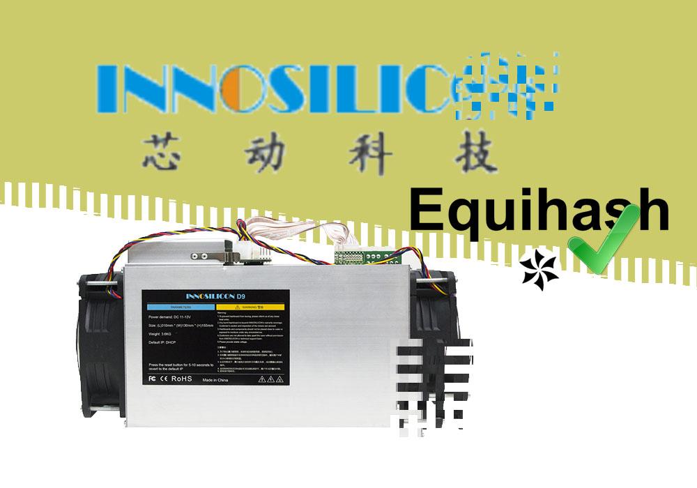 Innosilicon представил свой ASIC для Equihash