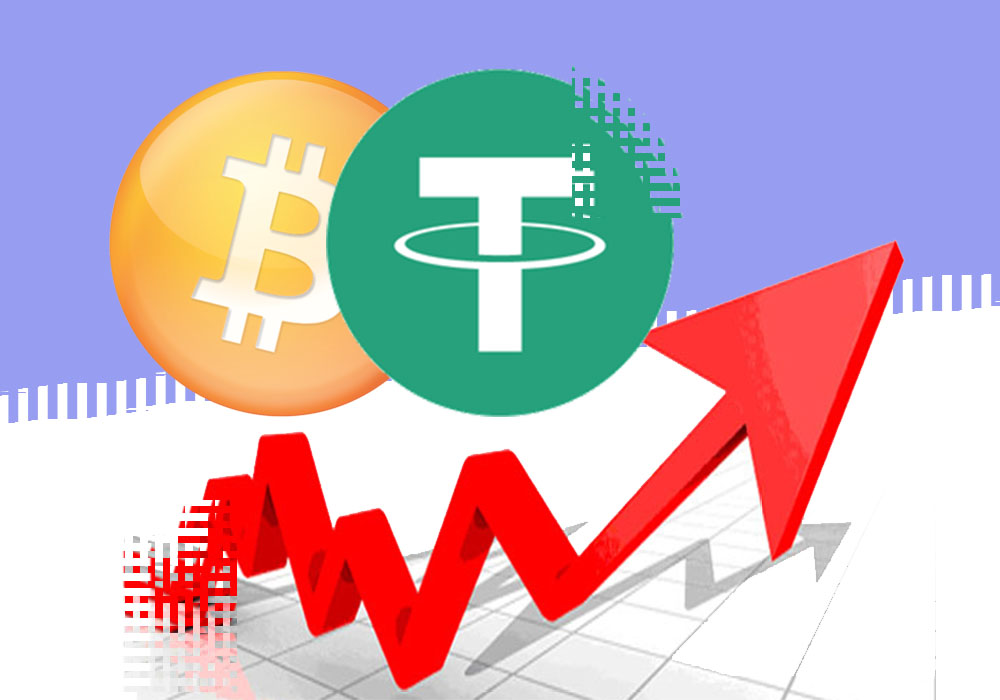 Рост биткоина в 2017 году обеспечивал Tether