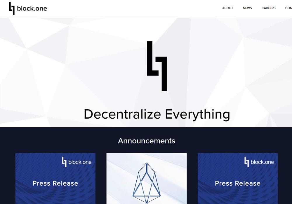 Block.one официально объявил остарте сети EOS— Криптоботаника