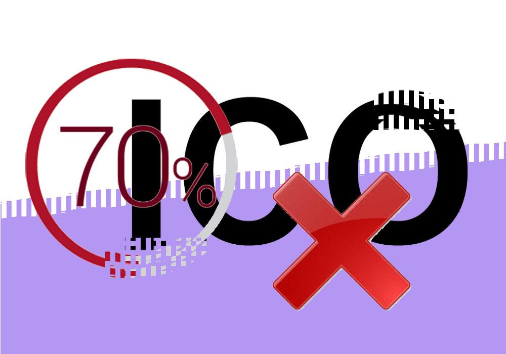 70% новых ICO-токенов до бирж не доходят