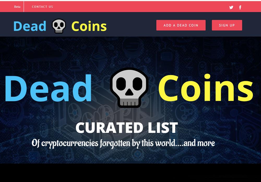 1000 криптовалют записали в мертвецы