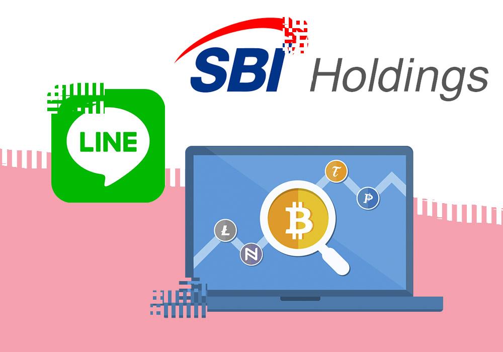 SBI и Line запустили свои криптобиржи