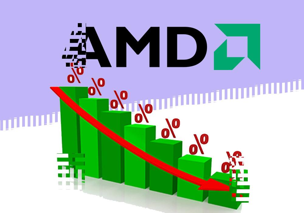 Продажи видеокарт для майнинга AMD упали на треть