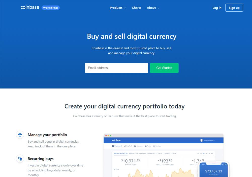 Coinbase создаст сервис цифровой идентификации