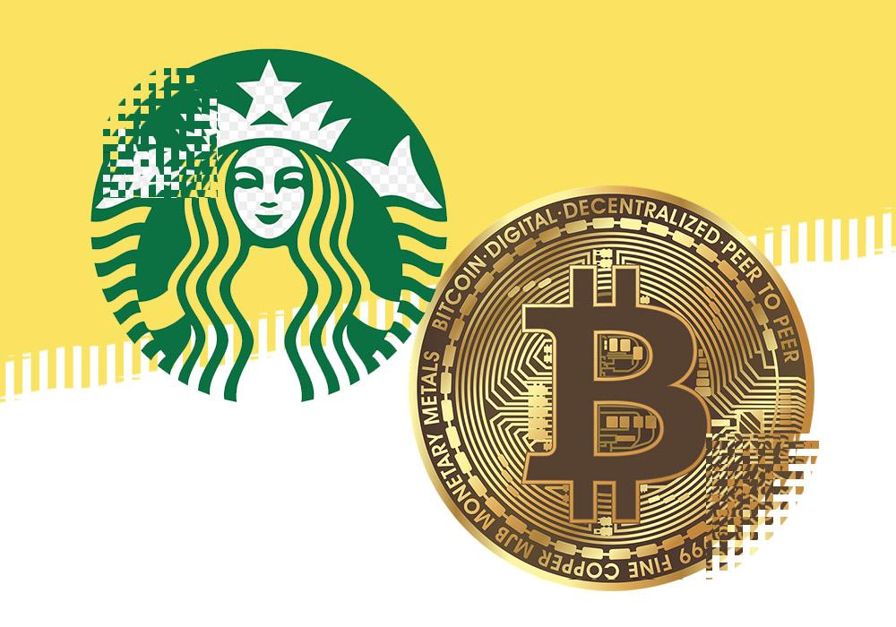 Скоро за биткоины можно будет выпить кофе в Старбаксе