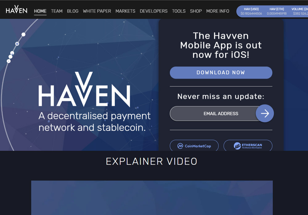 Havven запустит стейблкойн на блокчейне EOS